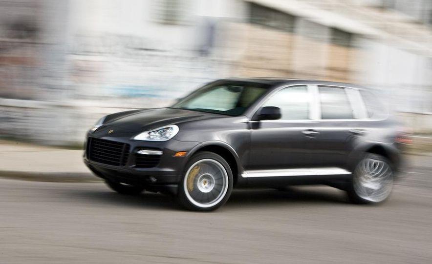 2010 BMW X5 M, 2009 Porsche Cayenne Turbo S, 2010 Jeep Grand Cherokee SRT8, and Land Rover Ranger Rover Sport Supercharged - Slide 26