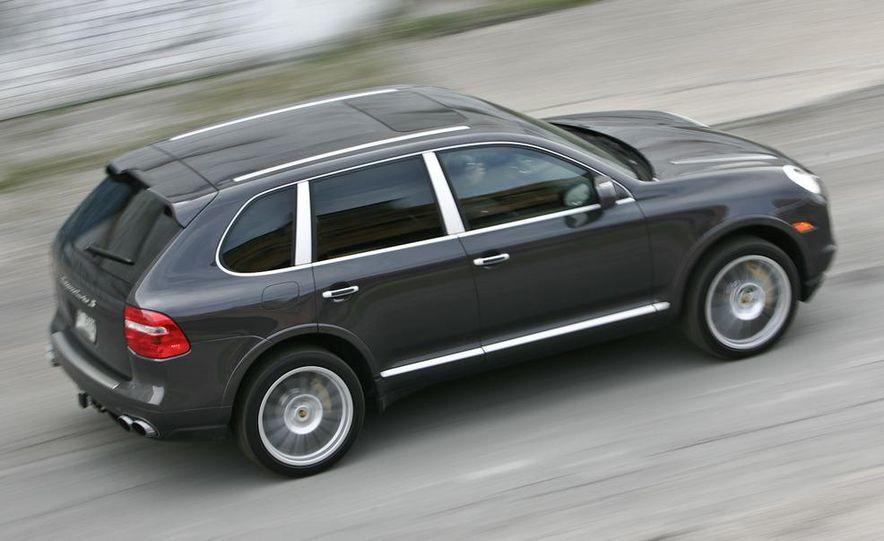 2010 BMW X5 M, 2009 Porsche Cayenne Turbo S, 2010 Jeep Grand Cherokee SRT8, and Land Rover Ranger Rover Sport Supercharged - Slide 27