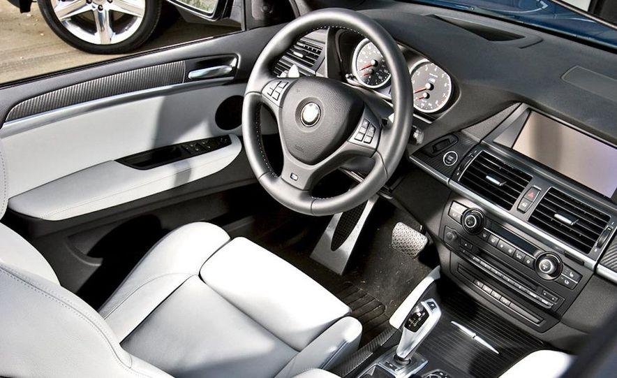 2010 BMW X5 M, 2009 Porsche Cayenne Turbo S, 2010 Jeep Grand Cherokee SRT8, and Land Rover Ranger Rover Sport Supercharged - Slide 14