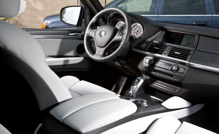 2010 BMW X5 M, 2009 Porsche Cayenne Turbo S, 2010 Jeep Grand Cherokee SRT8, and Land Rover Ranger Rover Sport Supercharged - Slide 16
