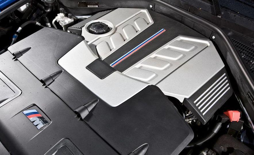2010 BMW X5 M, 2009 Porsche Cayenne Turbo S, 2010 Jeep Grand Cherokee SRT8, and Land Rover Ranger Rover Sport Supercharged - Slide 21