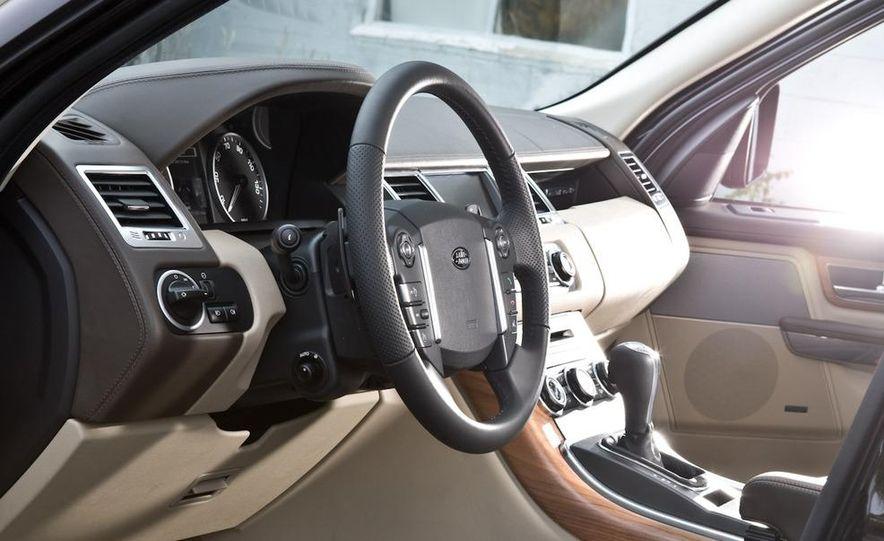 2010 BMW X5 M, 2009 Porsche Cayenne Turbo S, 2010 Jeep Grand Cherokee SRT8, and Land Rover Ranger Rover Sport Supercharged - Slide 80
