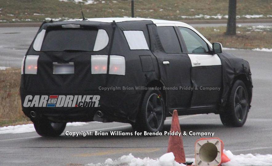 2012 Dodge Durango (spy photo) - Slide 3