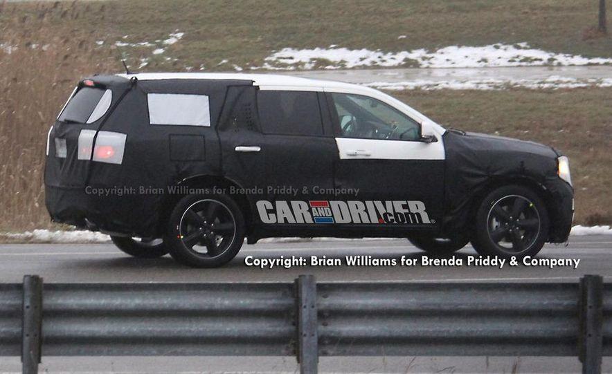 2012 Dodge Durango (spy photo) - Slide 4