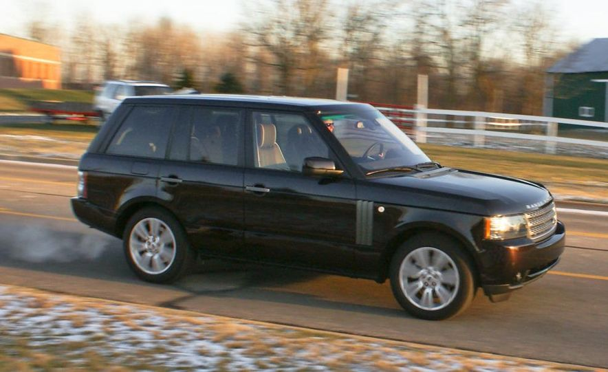 2010 Land Rover Range Rover HSE - Slide 1