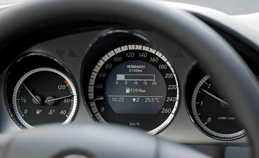 Mercedes-Benz 190D BlueEfficiency experimental vehicle - Slide 21