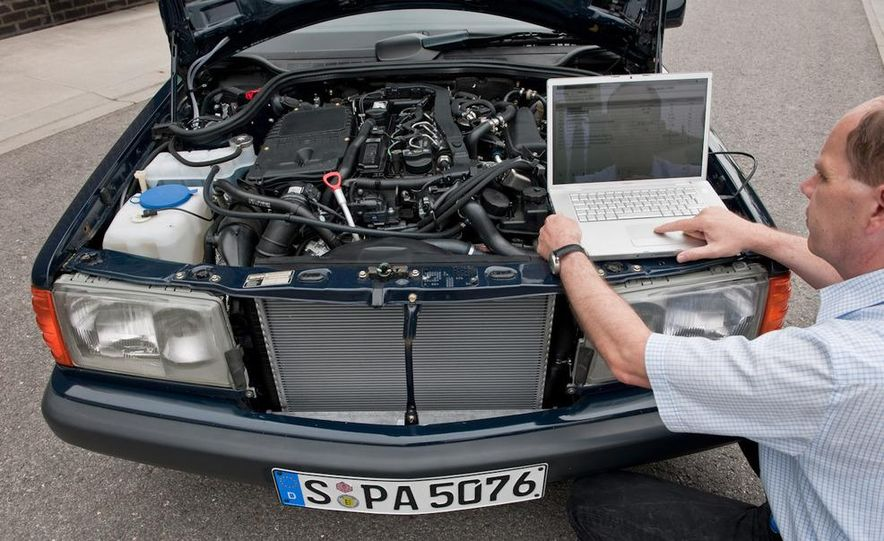 Mercedes-Benz 190D BlueEfficiency experimental vehicle - Slide 6
