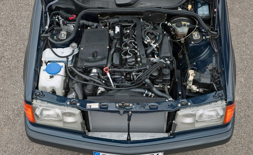 Mercedes-Benz 190D BlueEfficiency experimental vehicle - Slide 3