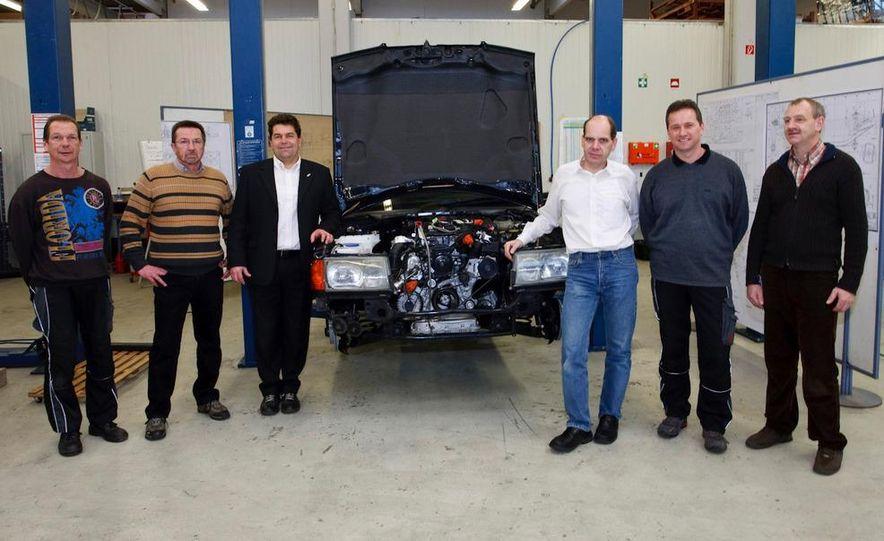 Mercedes-Benz 190D BlueEfficiency experimental vehicle - Slide 7