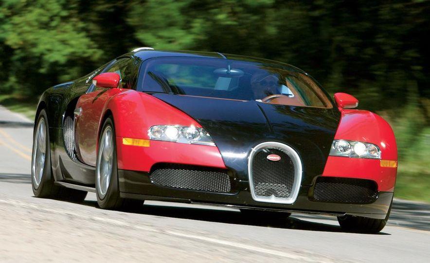 2008 Bugatti Veyron 16.4 interior - Slide 2
