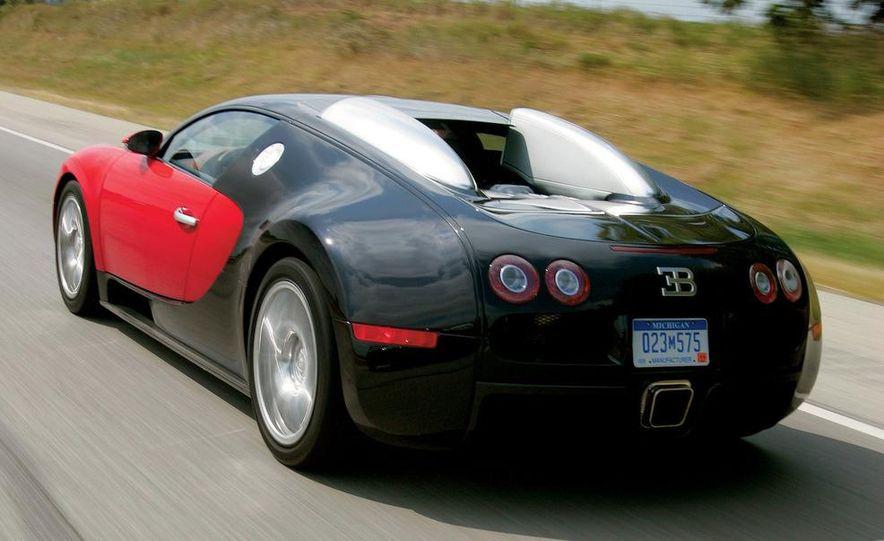 2008 Bugatti Veyron 16.4 interior - Slide 3