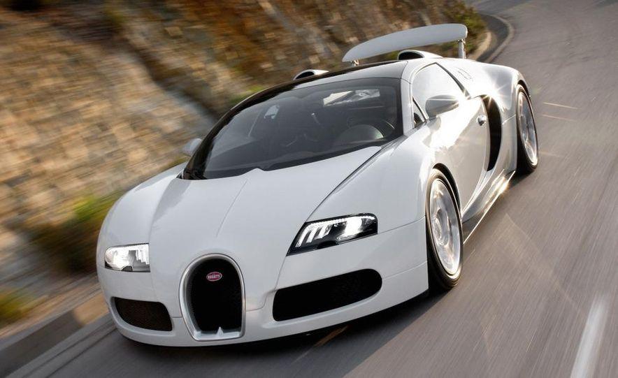 2008 Bugatti Veyron 16.4 interior - Slide 4