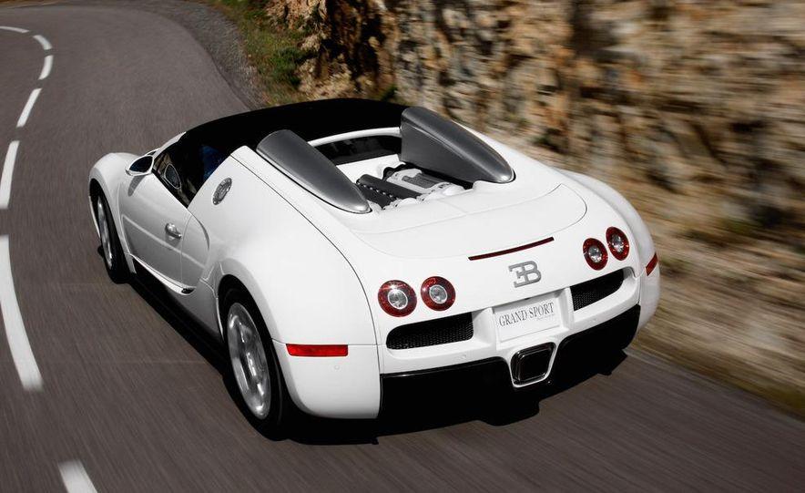2008 Bugatti Veyron 16.4 interior - Slide 6