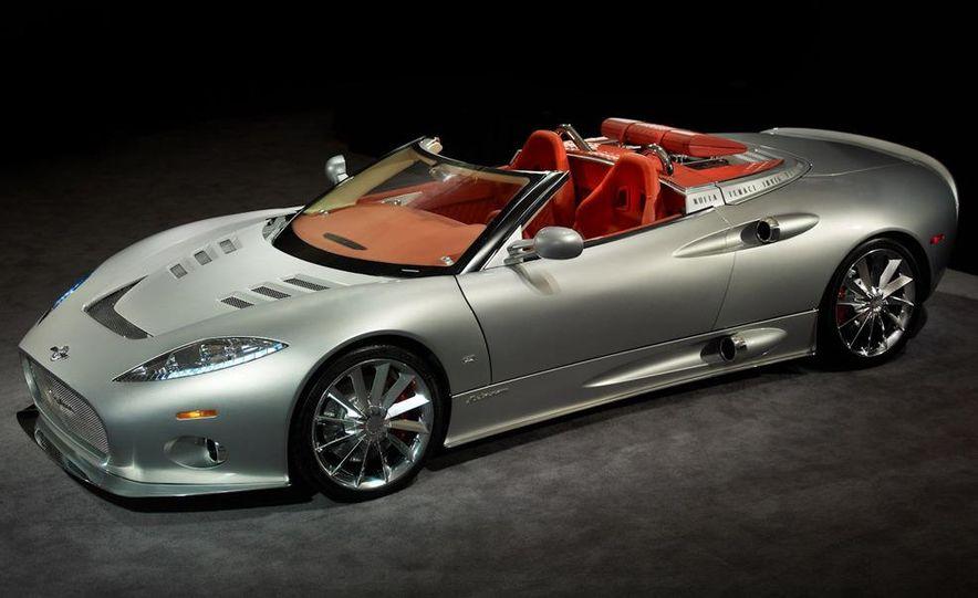 2008 Bugatti Veyron 16.4 interior - Slide 223