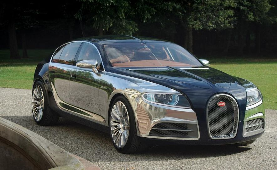 2008 Bugatti Veyron 16.4 interior - Slide 12