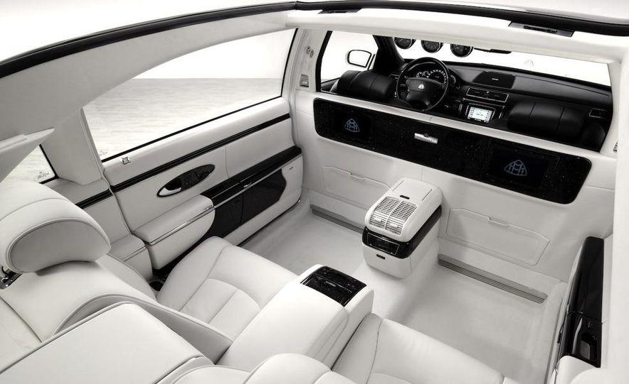 2008 Bugatti Veyron 16.4 interior - Slide 73