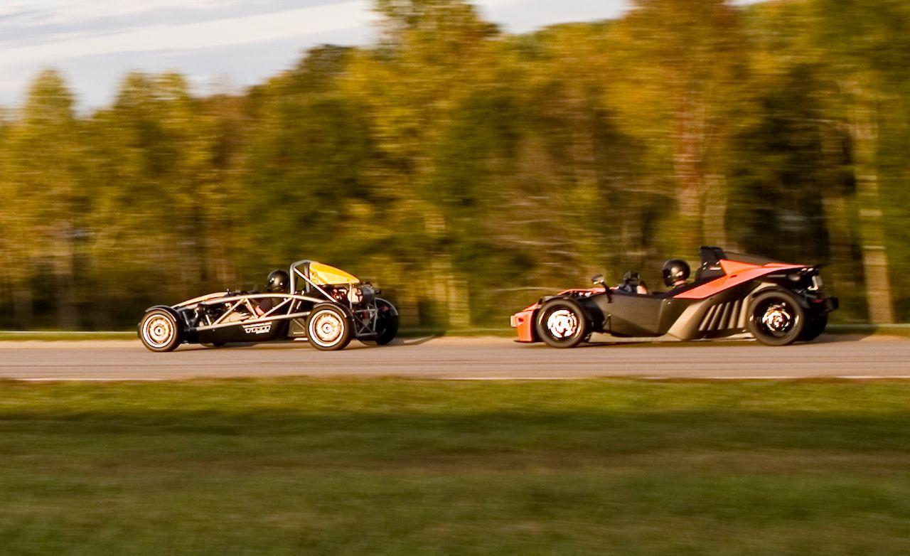 LLU: Ariel Atom 3 > 2:57.6 and KTM X-Bow > 2:52.3