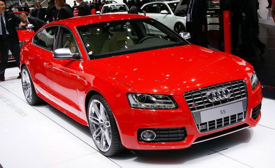 2009 Frankfurt auto show: 2010 Audi S5 Sportback - Slide 1