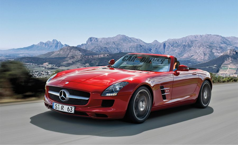 2012 mercedes benz sls amg roadster. Black Bedroom Furniture Sets. Home Design Ideas