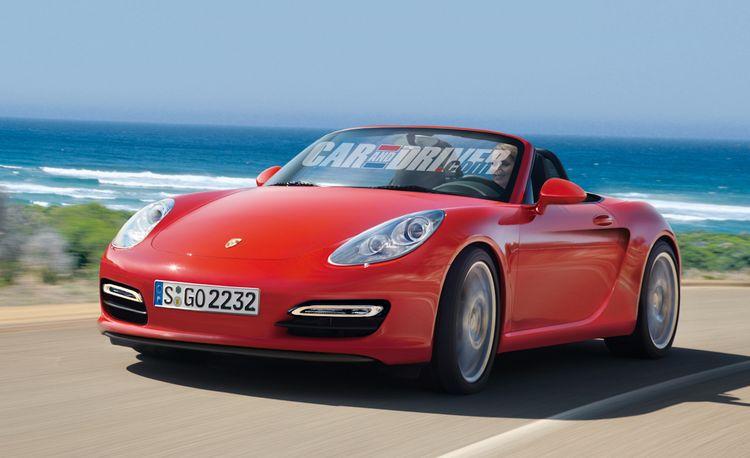 """2014 Porsche """"Baby"""" Boxster"""