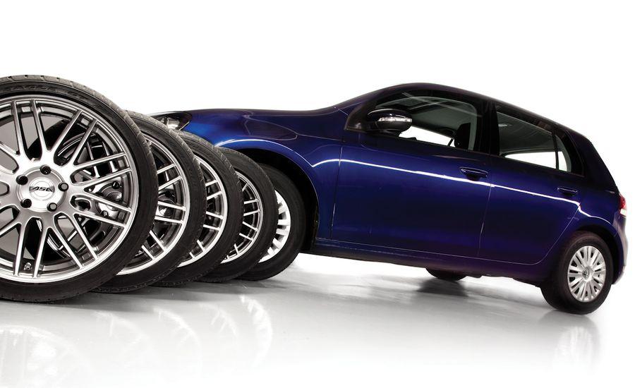 經過測試的升高車輪和輪胎的效果