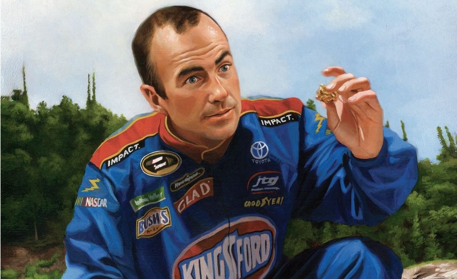 NASCAR Pans for Foreign Gold With Marcos Ambrose