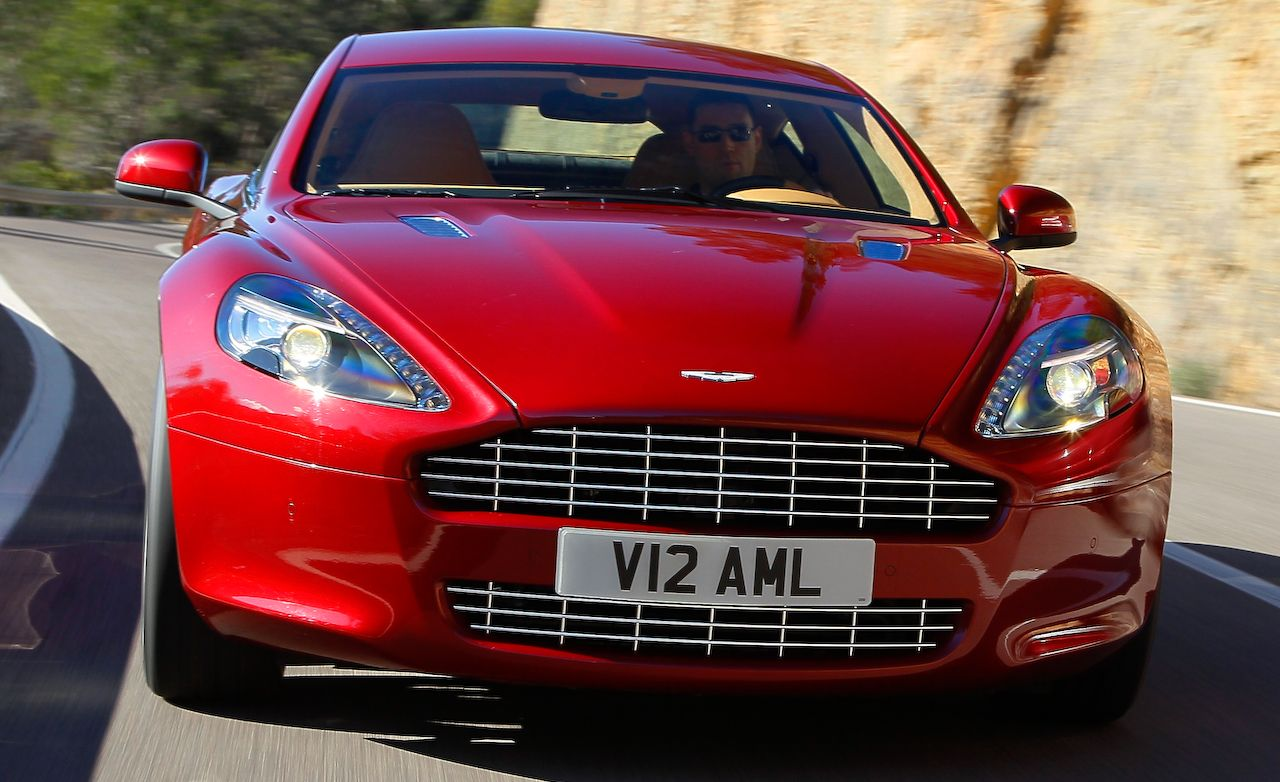 Aston Martin Rapide Review Car And Driver - Aston martin rapid