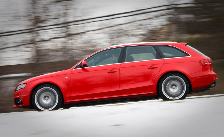 Audi A T Avant Sline Instrumented Test Car And Driver - Audi a4 s line
