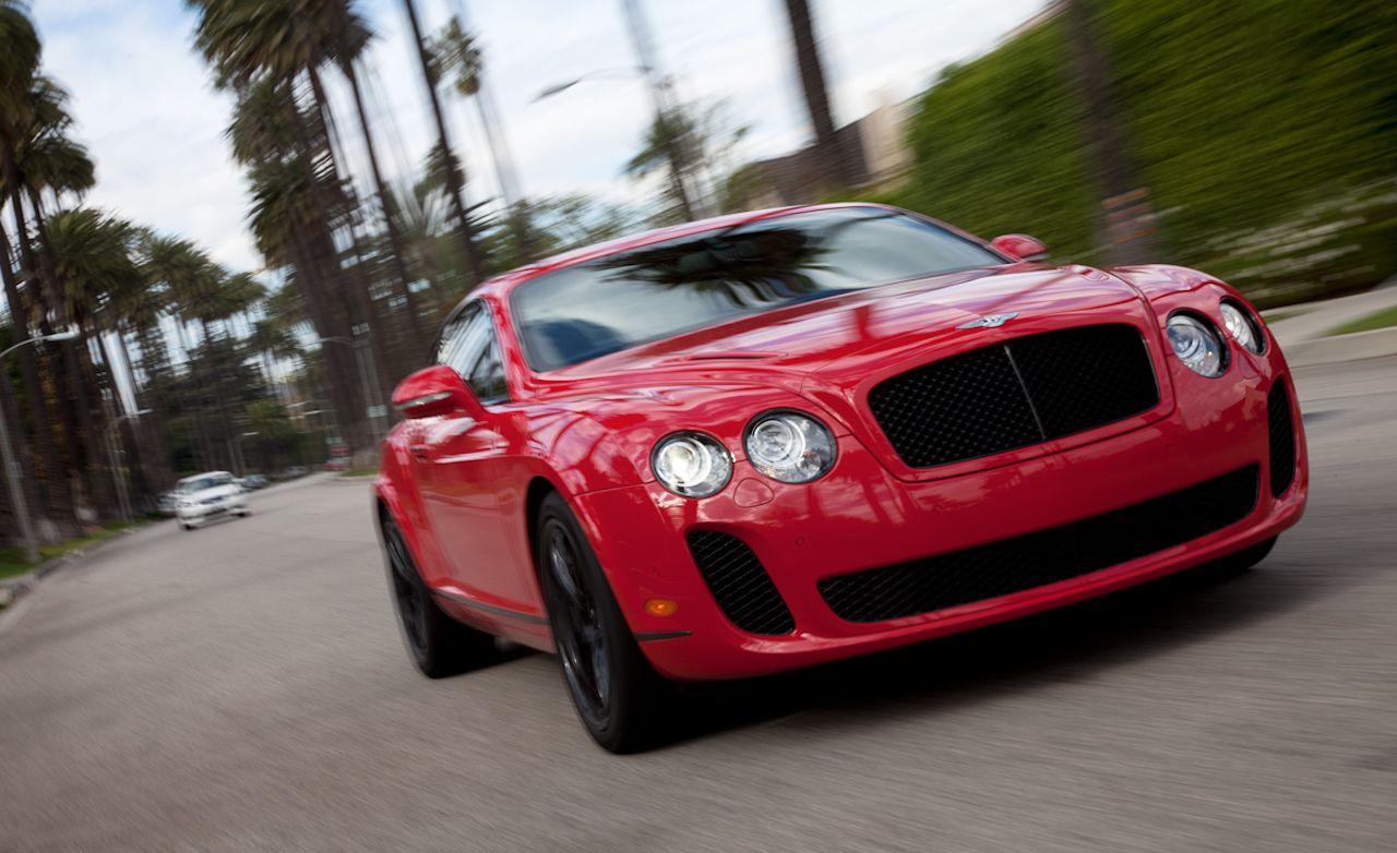 2010 bentley continental supersports instrumented test car and driver. Black Bedroom Furniture Sets. Home Design Ideas
