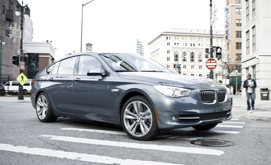 BMW I Gran Turismo Instrumented Test Car And Driver - 2012 bmw 550i gt