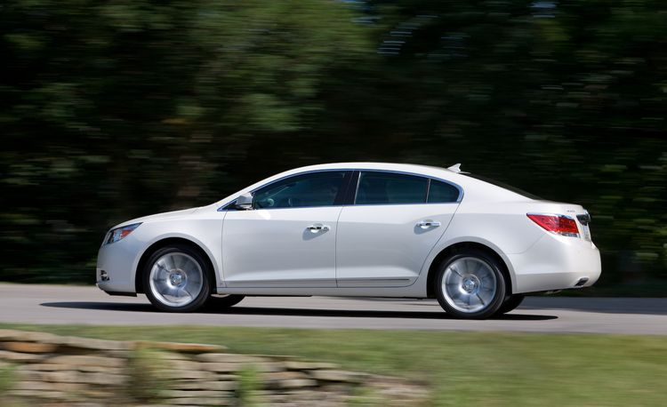 2010 Buick LaCrosse CX 4-Cylinder