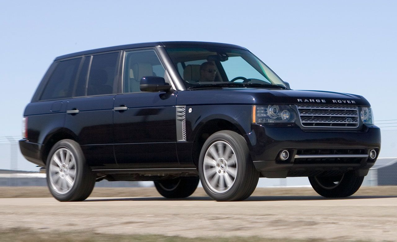2010 land rover range rover supercharged instrumented test car and driver. Black Bedroom Furniture Sets. Home Design Ideas