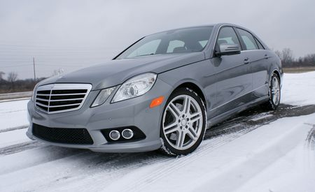 2010 Mercedes-Benz E550 4MATIC Sedan