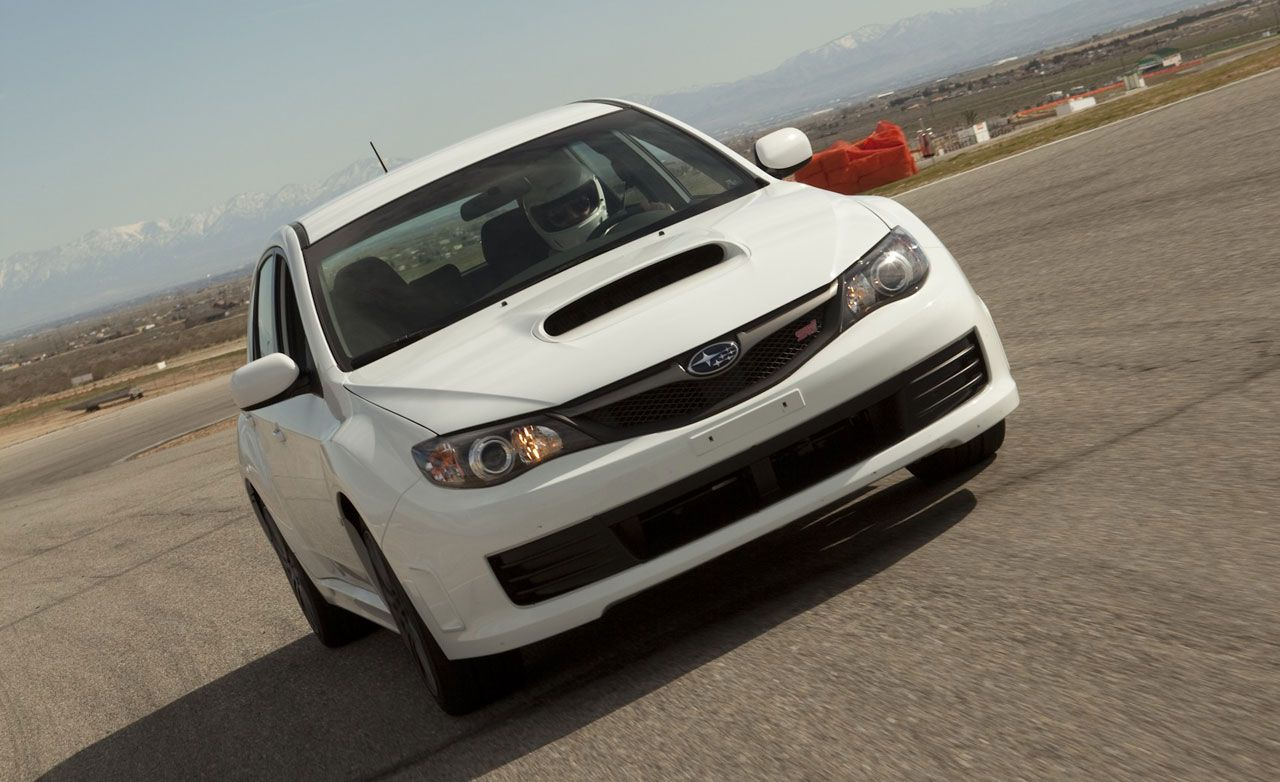 2010 subaru impreza wrx sti – review – car and driver