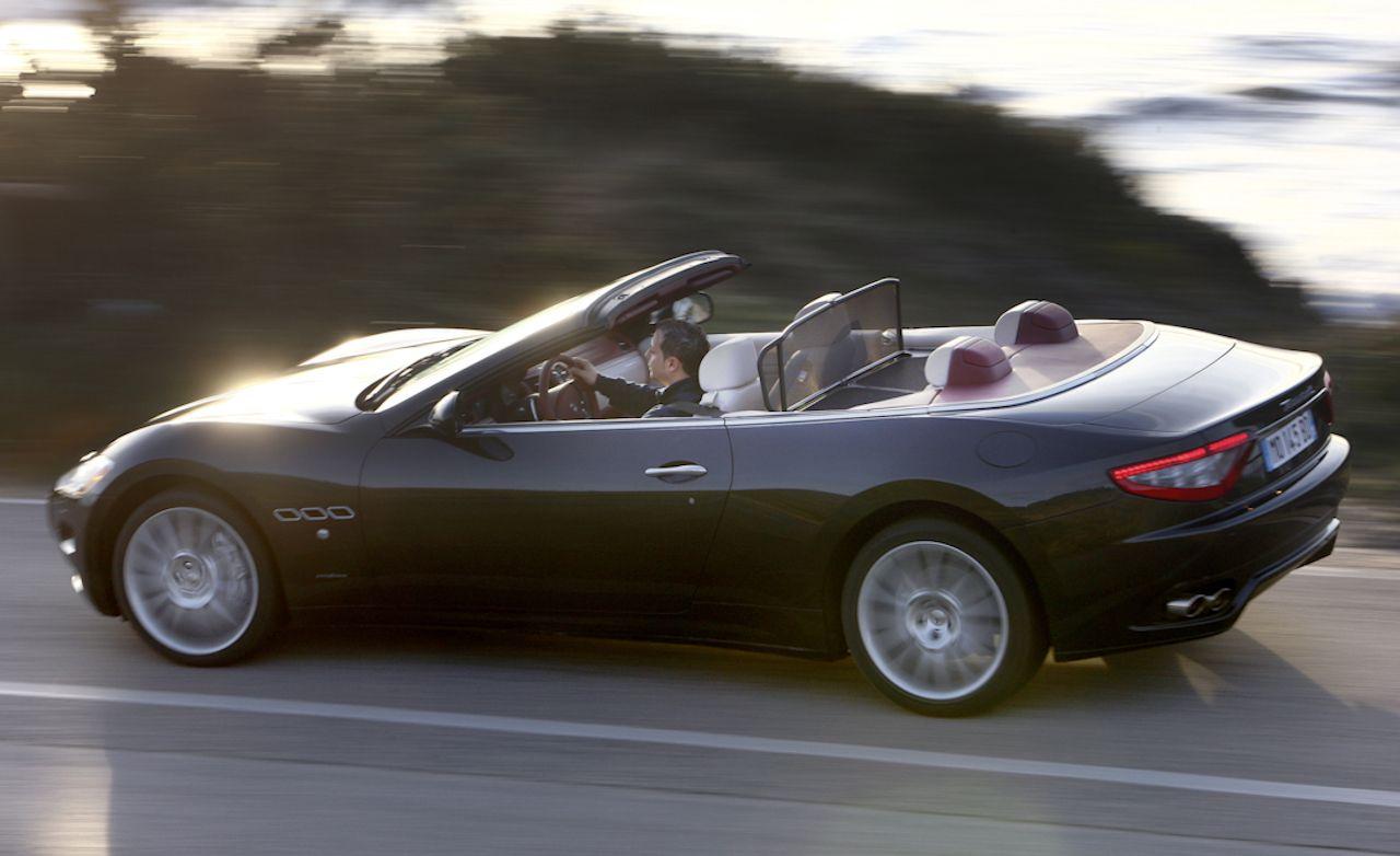 2011 maserati granturismo convertible review car and. Black Bedroom Furniture Sets. Home Design Ideas