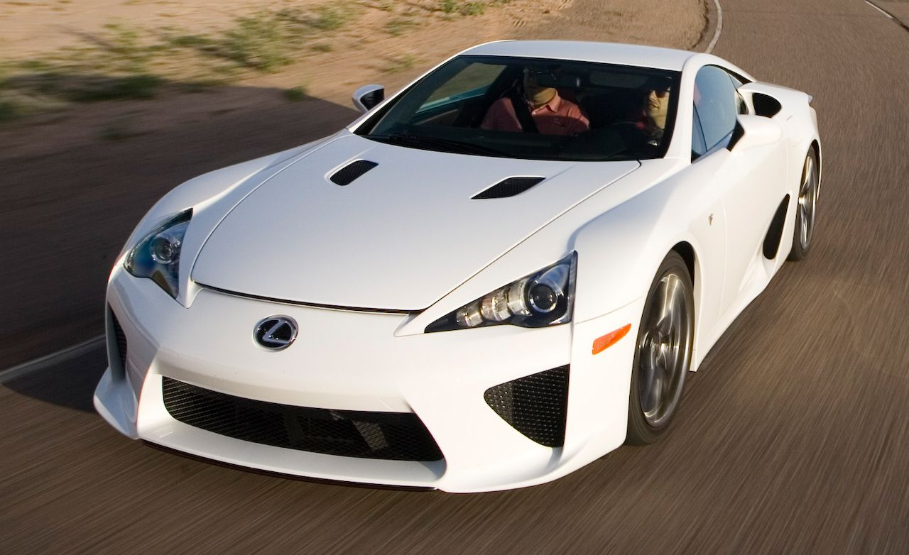 2012 lexus lfa – instrumented test – car and driver