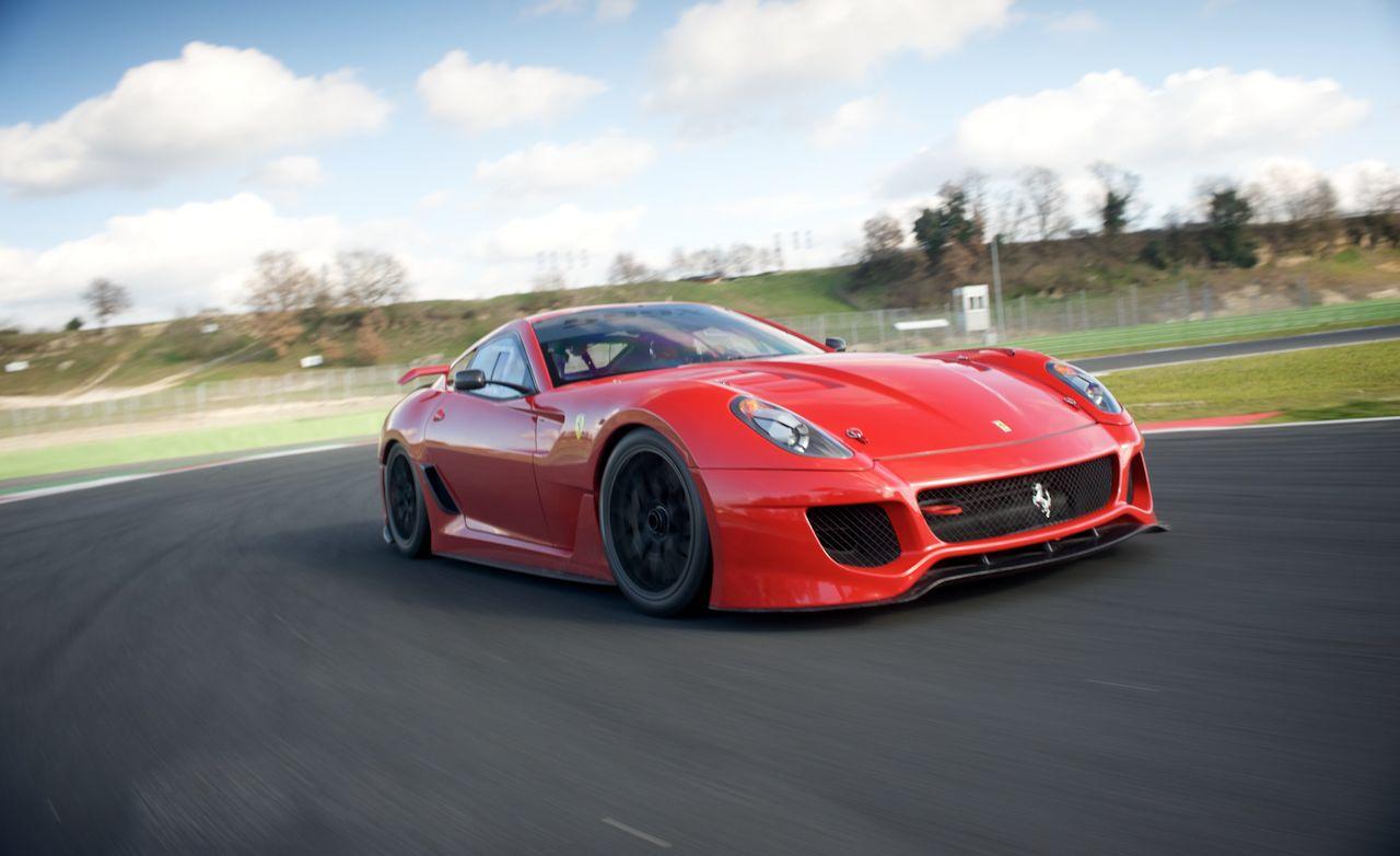 Ferrari 599 xx specs