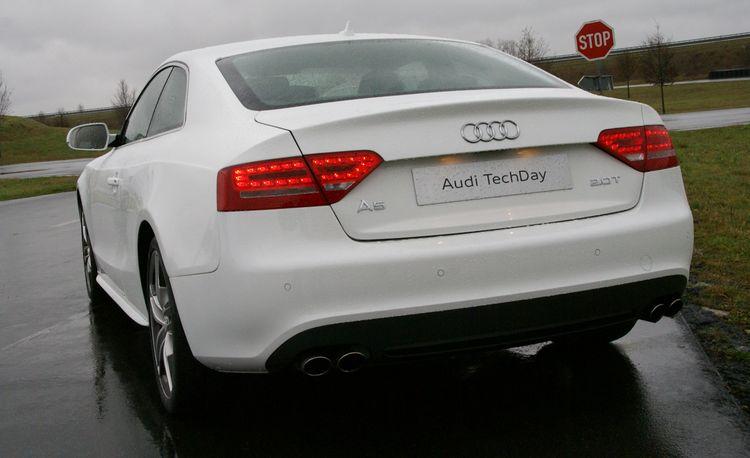 Lightweight Audi A5 2.0T Concept