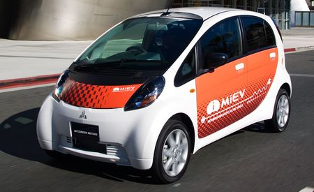 Mitsubishi i-MiEV Electric Car Prototype