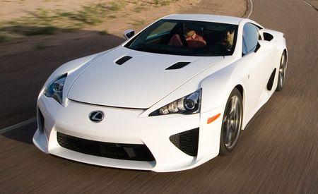 World Exclusive! 2012 Lexus LFA Tested