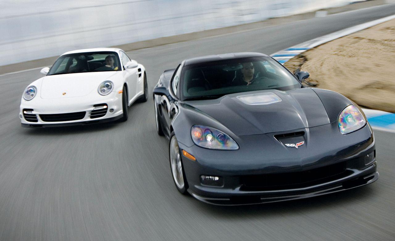 2010 chevrolet corvette zr1 vs 2010 porsche 911 turbo comparison test car and driver