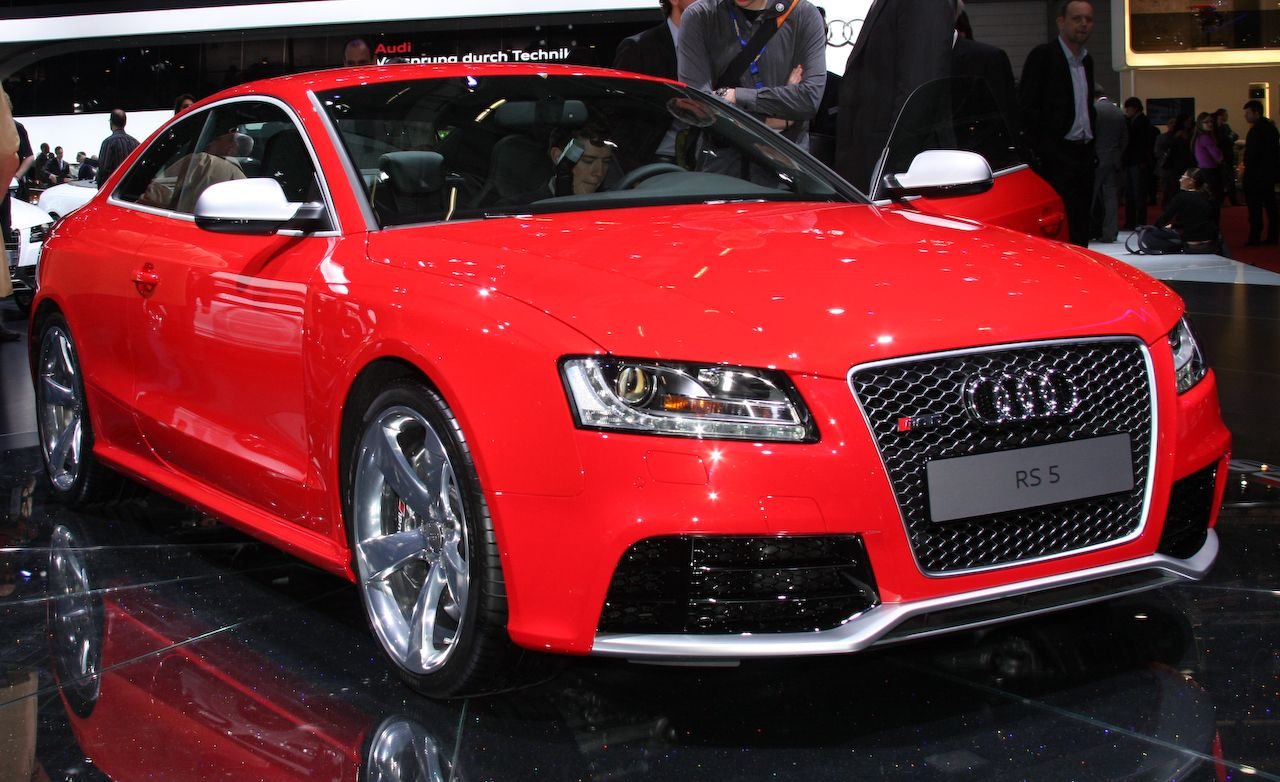 Mazda Connect Apps >> 2010 Audi RS5 | Official Photos And Info | News | Car and ...