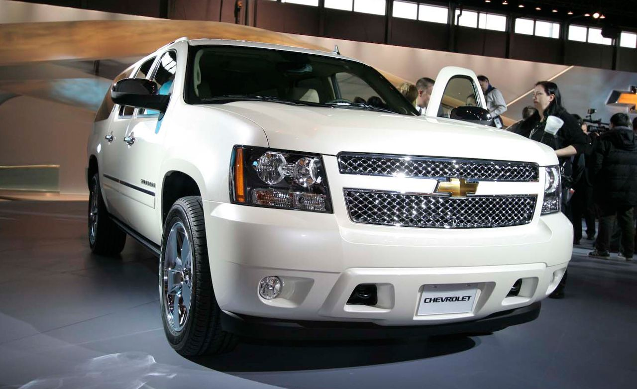 2010 Chevrolet Suburban 75th Anniversary Diamond Edition
