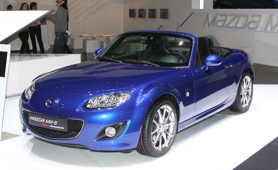 2010 Mazda MX-5 Miata 20th Anniversary Edition
