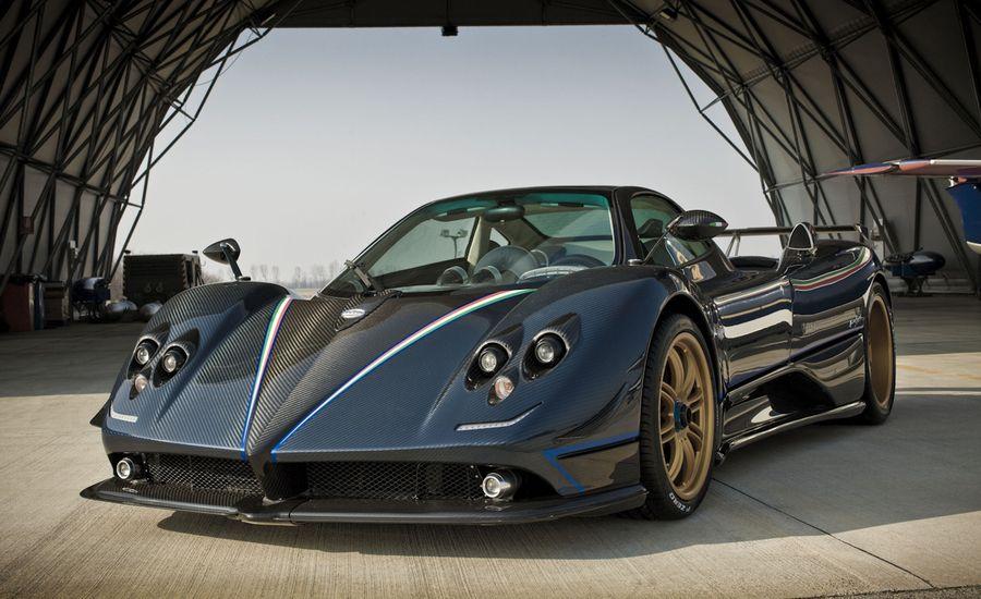 2010 Pagani Zonda Tricolore News Car And Driver