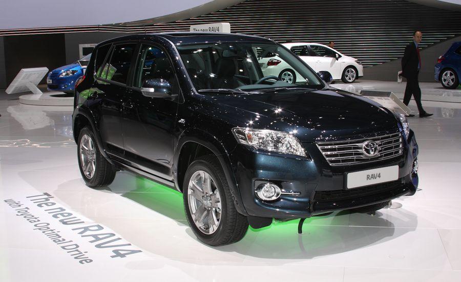2010 Toyota RAV4 Face-Lifted for Europe
