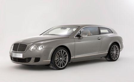 2011 Bentley Continental Flying Star by Touring Superleggera
