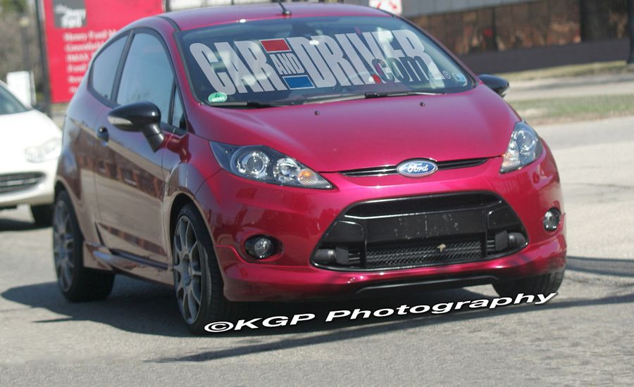 2011 Ford Fiesta St Ecoboost News Car And Driver