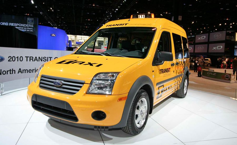 2011 Ford Transit Connect Taxi, EV, Natural Gas, and Propane