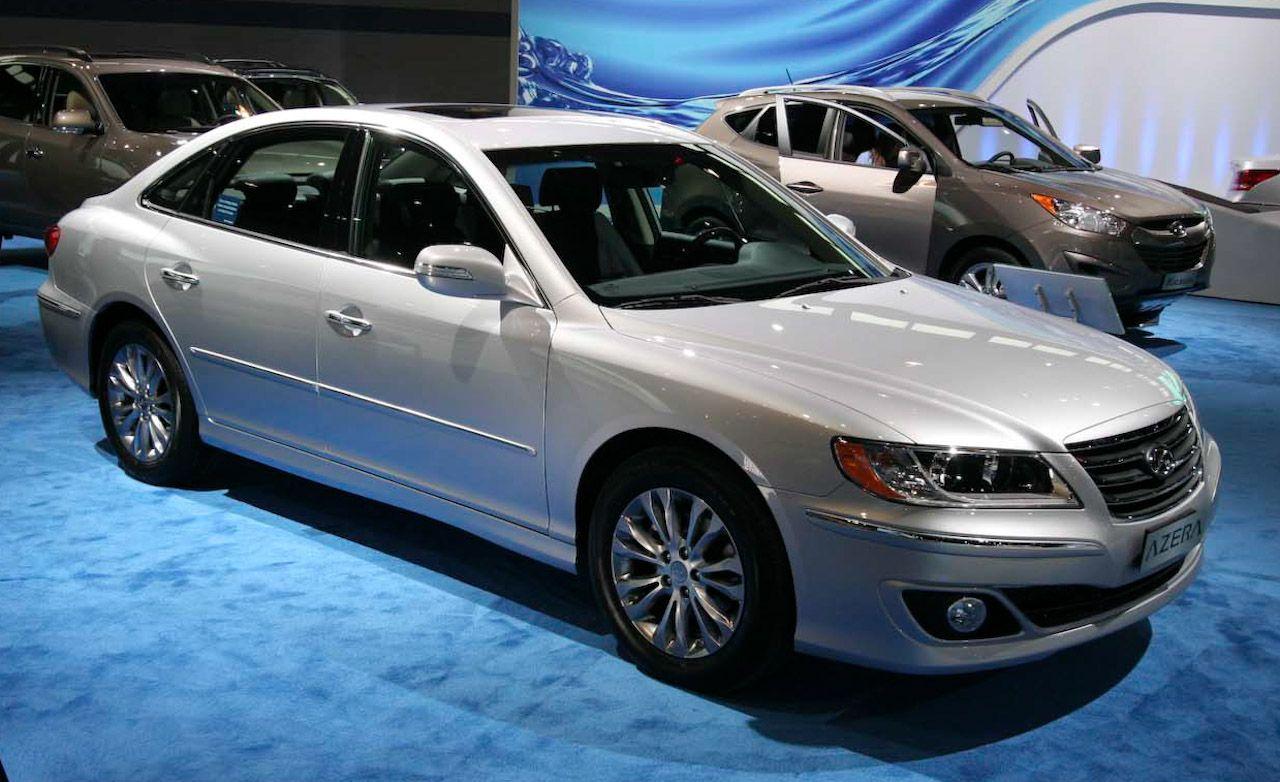 Hyundai Azera Reviews Hyundai Azera Price Photos And Specs